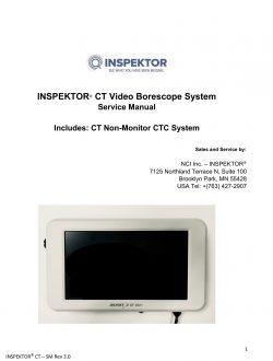 INSPEKTOR - NCI Service Manual Rev 3.0